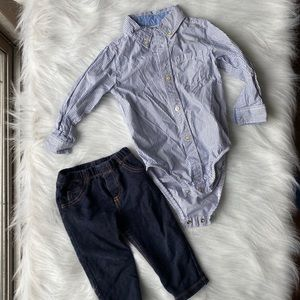 Baby Boy Outfit 12M